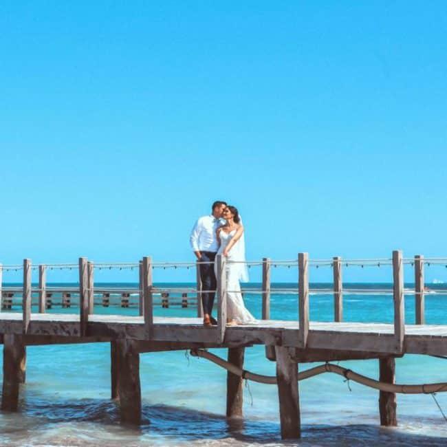 Ana+Gilbert Destination Wedding