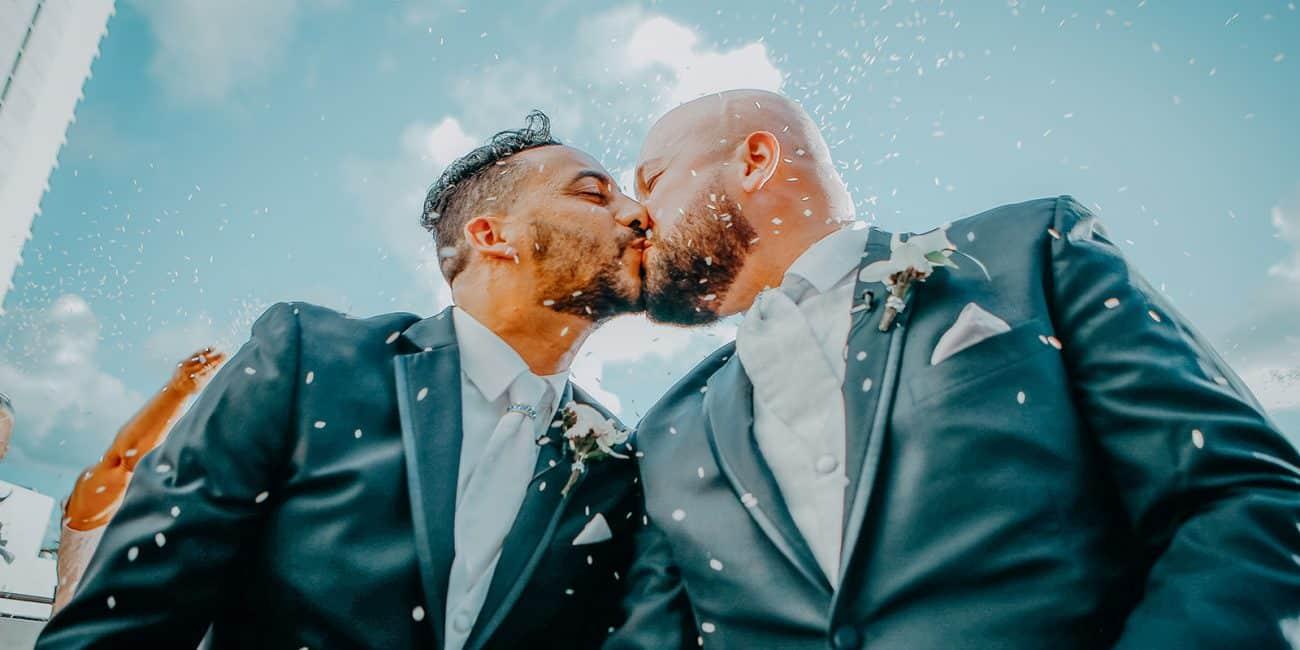 Mishael+Waldo Gay Wedding